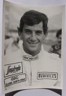 Formule I - Photo  De Ayrton SENNA - 1984 - Car Racing - F1