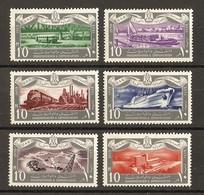 Egypte 1959 - Transports - Communications - Série Complète MNH -  449/454  - Train - Bateau - Bus - Unused Stamps