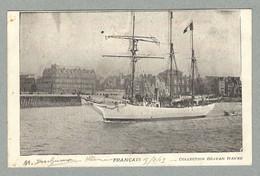 1903 LE HAVRE - EXPÉDITION FRANÇAISE DE J.-B. CHARCOT AU PÔLE SUD - LE FRANÇAIS SORTANT DU PORT - Missions