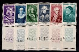 YV 1027 à 1032 N** Serie Renoir Complete Cote 160 Euros - Unused Stamps