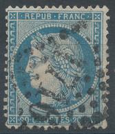 Lot N°60271  Variété/n°37, Oblit GC 1716 Grenoble, Isère (37), Filet EST Doublé - 1870 Besetzung Von Paris