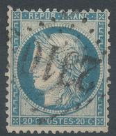 Lot N°60272  N°37, Oblit GC 2310 Mende, Lozère (46) - 1870 Besetzung Von Paris