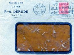 Devant De Lettre Le Havre 1928 Perforé PAD 16 - Perfin