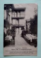 65 - LOURDES - Pension De Famille Tenue Par  M Et Mme FOUCHET - Villa De L'Annonciation - Hotels & Restaurants