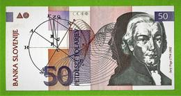 BANKA SLOVENIJE / SLOVENIE / PETDESET TOLARJEV / 50 TOLARS / 1992 - Slovenia