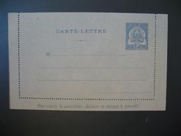 Entier Postal  Carte Lettre  Tunisie  Type Armoiries  15c Maigre  Voir Scan - Covers & Documents
