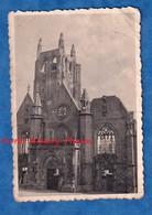 Photo Ancienne Snapshot - BERGUES ( Nord ) - L' Eglise Aprés Le Bombardement De 1940 - WW2 - Histoire Patrimoine - Guerra, Militari