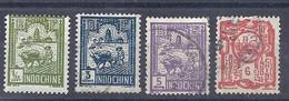 210038648  INDOCHINA. YVERT Nº  123/129/131/132  USED/MH - Unused Stamps