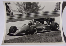 Formule I - Michele  ALBORETO Sur Ferrari - 1984 - Car Racing - F1