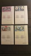 FRANCE Neufs ** SUP  PA N°44,46, 47, 48 Coins De Feuilles Datés - 1960-.... Mint/hinged
