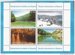 2006 X BF-3  KOSOVO UNMIK TURISMO TOURIST ATTRACTIONS IN KOSOVA NEVER HINGED - Kosovo