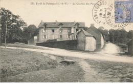 35 FORET DE PAIMPONT #21347 LA CANTINE DES FORGES - Paimpont