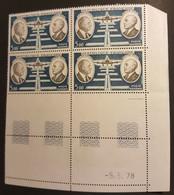 FRANCE Neufs ** SUP  PA N°46 Coin De Feuille Daté 5/5/1978 - 1960-.... Mint/hinged