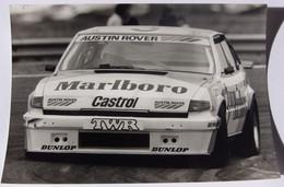 "Rover "" Vitesse "" 3500 Avec J.Louis SCHLESSER - 1984 - Car Racing - F1"