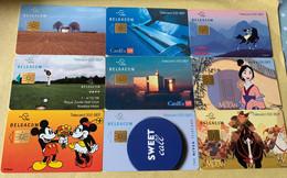 Lot2 - Belgie 1998 Tot 2000 - Mooie Chipkaarten - Verzamelingen