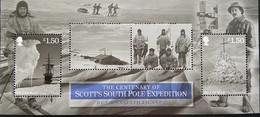 Isle Of Man MNH 2012 - South Pole Expedition . Ships - Isla De Man