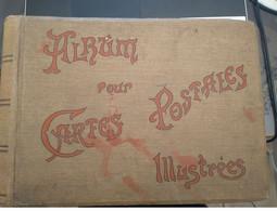 ALBUM ANCIEN POUR CARTES POSTALES ANCIENNES 400 CPA - Álbumes, Forros Y Hojas