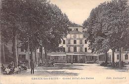 HOTELS & RESTAURANTS - 04 - GREOUX Les BAINS - GRAND HOTEL Des BAINS ( Bon Plan ) - CPA  - Alpes De Haiute Provence - Hotels & Restaurants
