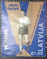 Latvia Lettland Lettonie 2020  Janis Dalins - Walking -  Olympic Olympic Winner  - Los Angeles 1932 USED (O) - Letland