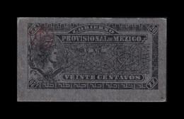 México 20 Centavos Gobierno Provisional 1914 Pick S699 EBC XF - Mexico