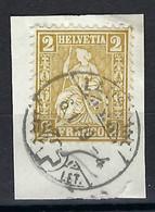 SUISSE 1879 :  Le ZNr.37, Obl. CAD Lausanne Sur Fragment - Unclassified
