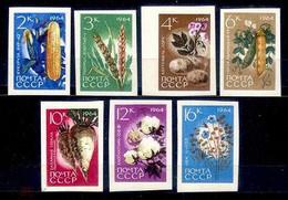 URSS/RUSSIA/RUSSLAND/ZSRR 1964 MI.2922-28 B ** , ,SOL.3056-62 ,YVERT. - Unused Stamps
