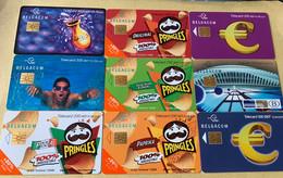 Lot4 - Belgie 2001 Tot 2004 - Mooie Chipkaarten - Verzamelingen