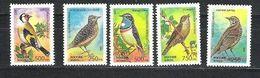 ROSJA 1995 MI.440-444** - Sperlingsvögel & Singvögel