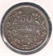 LEOPOLD 2 * 50 Cent 1907 Vlaams * Prachtig * Nr 10354 - 06. 50 Céntimos