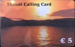 BELGIQUE - Prepaid  -  Thandi Calling Card (France)  -  5 E. - GSM-Kaarten, Herlaadbaar & Voorafbetaald