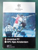 Juventus F.C: - AFC Ajax Amsterdam - 23 Aprile 1997, Programma - Formato 21x15 - Programs
