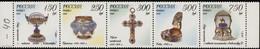 RUSSIE/RUSSIA/RUSSLAND/ROSJA 1995 MI.455-59 ** ,ZAG.236-40 ,YVERT. - Unused Stamps