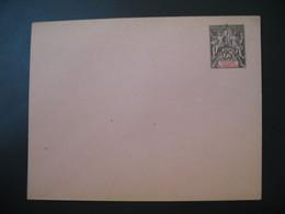 Entier Postal  Enveloppe Saint-Pierre Et Miquelon  Type Groupe  25c   Voir Scan - Covers & Documents