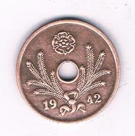 5 PENNIA 1942 FINLAND /2996/ - Finland