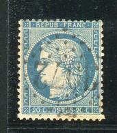 Superbe N° 37 - Cachet GC 3072 ( Quissac - Gard ) - 1870 Besetzung Von Paris