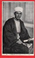 PALESTINE  REV F B MELLOR IN COSTUME OF EATERN SCRIBE    MISSIONARY - Palestine