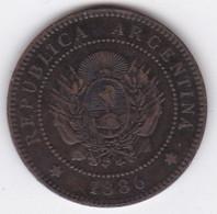 Argentine Tucuman 1 Centavo 1886 Bronze - Argentina