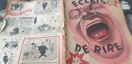 ECLATS DE RIRE/GAD/LARDIN TEYVAR/MORIER PEYNET /ALDEBERT /CIRQUE PICQ /MOALLIC BADERT/FAVALELLI /CONCIERGES RIT - 1900 - 1949