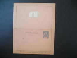 Entier Postal  Carte Lettre Anjouan  Type Groupe  25c   Voir Scan - Covers & Documents