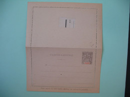 Entier Postal  Carte Lettre Anjouan  Type Groupe  15c   Voir Scan - Covers & Documents
