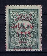 Turkey: Mi 201 III A Isf 330 Salonique 1911  MH/* Mit Falz, Avec Charnière - Unused Stamps