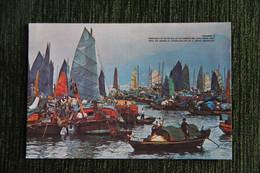 HONG KONG - Floating People In Castle Peak Bay. - China (Hong Kong)
