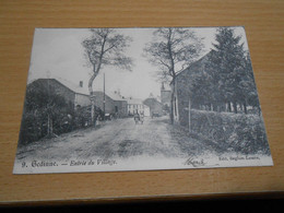 GEDINNE Entrée Du Village Animée Circulée En 1905 - Gedinne