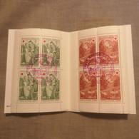 ⭐ Carnet CROIX-ROUGE 1970, Timbres Oblitérés 1er Jour 2 Tampons Excellent État ⭐ Collection Timbre Poste - Croce Rossa