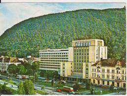 BRASOV HOTEL CARPATI BUS IKARUS? ROMANIA STATIONERY - Roemenië