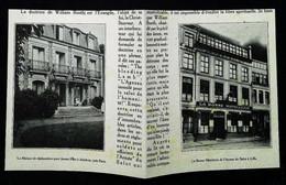 ► LILLE ASNIERES  -  Les Foyers Féminins  (Armée Du Salut)   - Coupure  De Presse Originale Début XXe (Encadré Photo) - Machines
