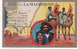 Somalie : Carte Géographique Avec Illustration Edition Lion Noir En 1945 (animé) PF. - Somalia