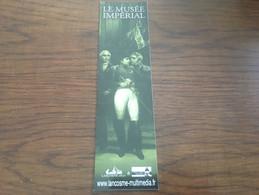 Marque Page Le Musée Impérial Ed Lancosme - Bookmarks