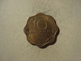 MONNAIE SRI LANKA 10 CENTS 1975 - Sri Lanka