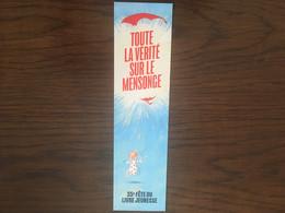 Marque Page Fête Du Livre Jeunesse Saint Paul - Bookmarks